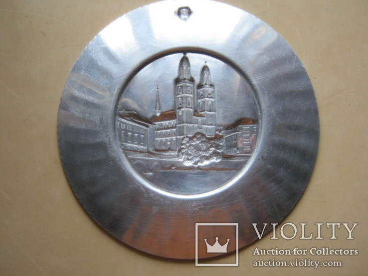 Тарелка декоративная Швейцария, фото №11