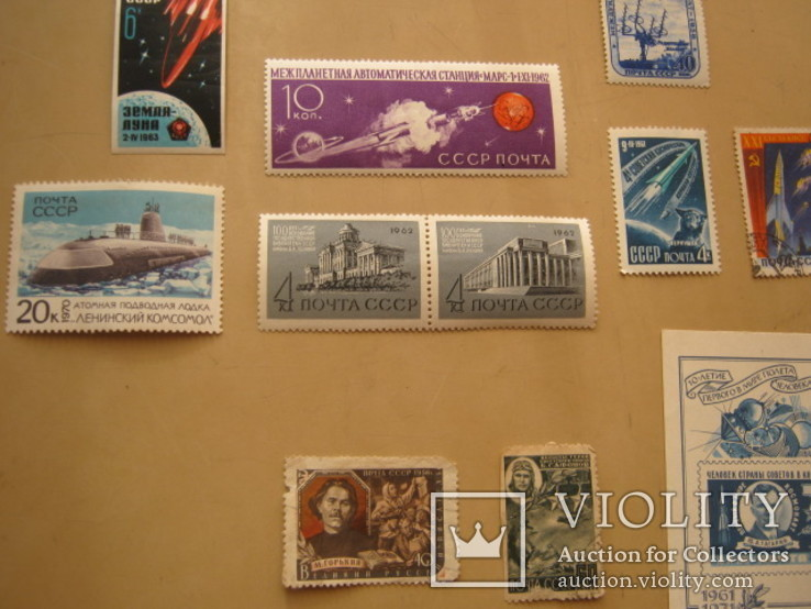 Марки разные  СССР, фото №8