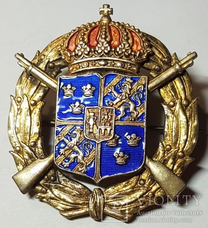 Стрелковый знак. Швеция. 1935 г., фото №2