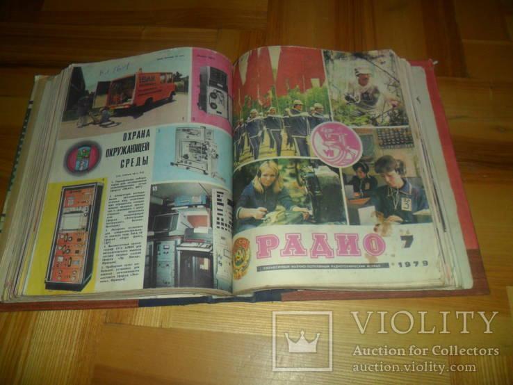 """Журнал""""Радио"""" за 1979 год 12 номеров полная подшивка, фото №10"""