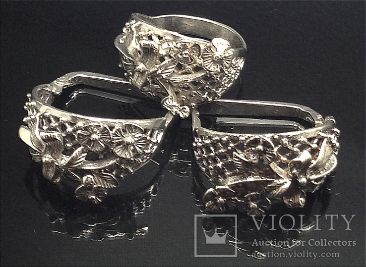 Кольцо, серьги, фото №2