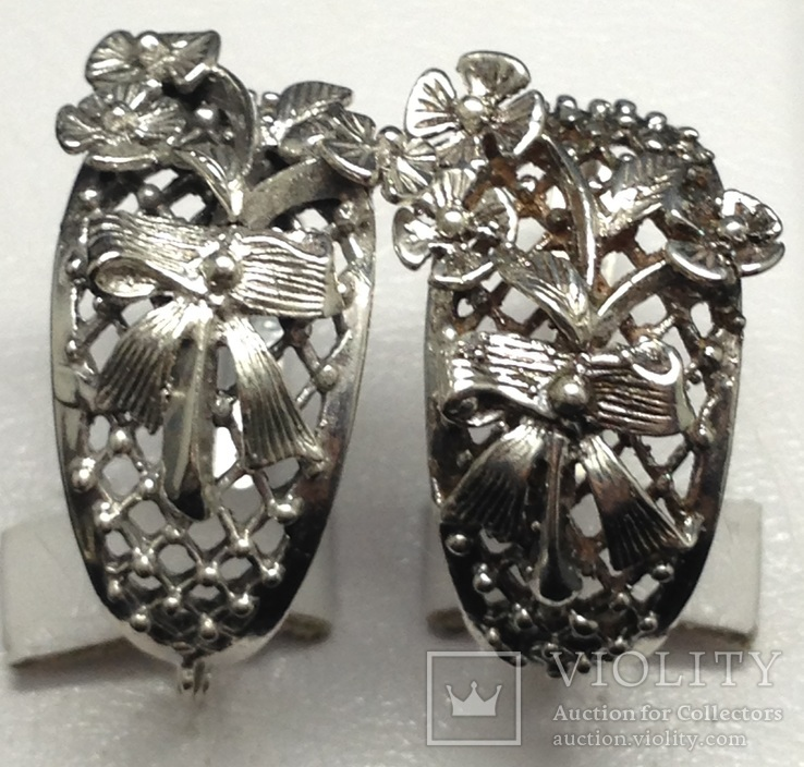 Кольцо, серьги, фото №4