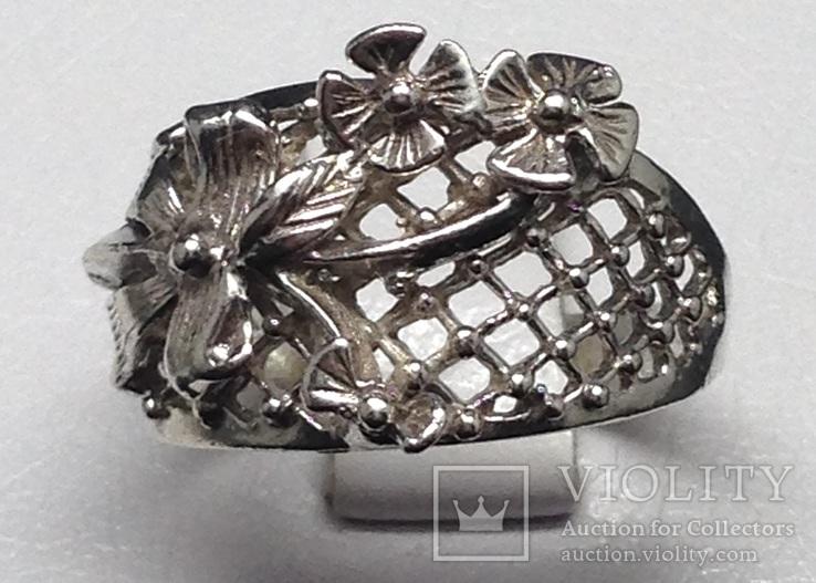 Кольцо, серьги, фото №5