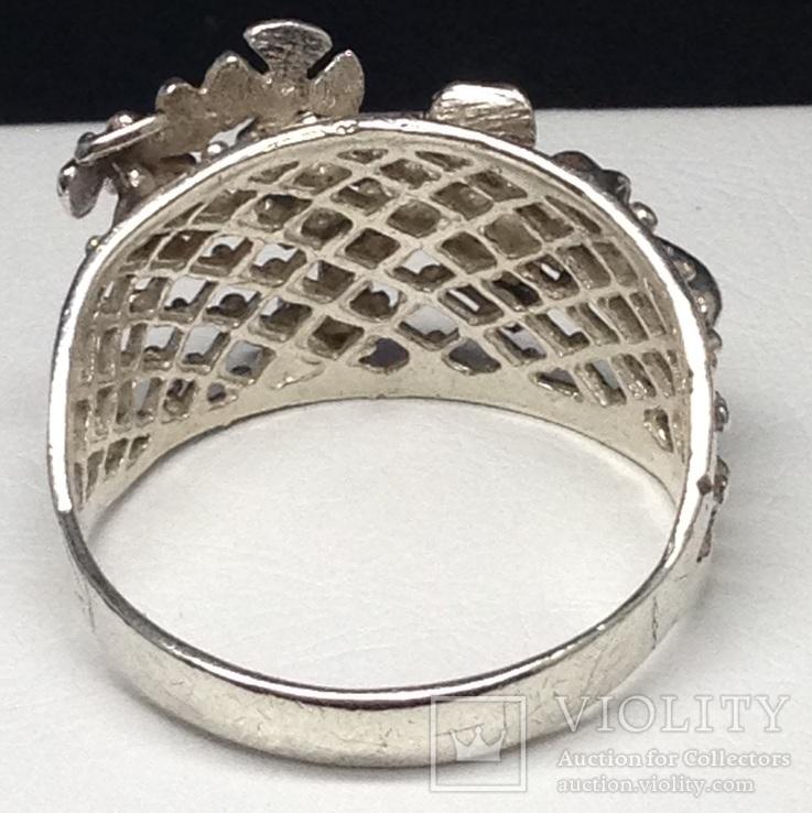 Кольцо, серьги, фото №6