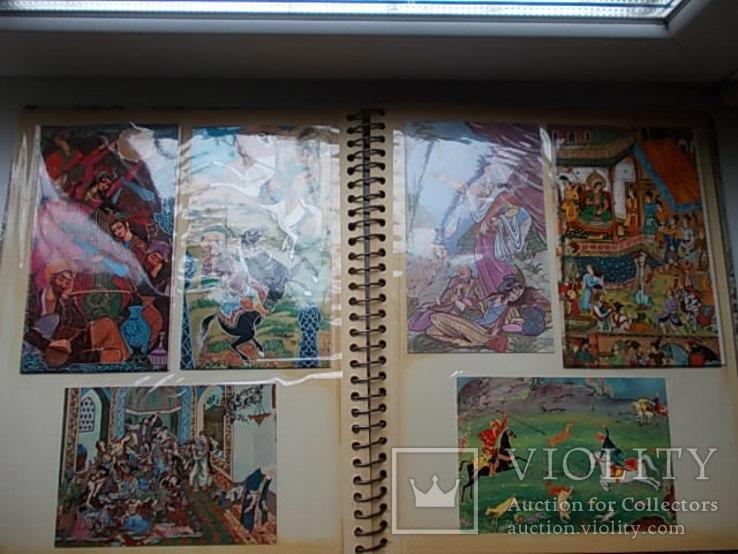 Альбом Иранских открыток.  46 шт., фото №6