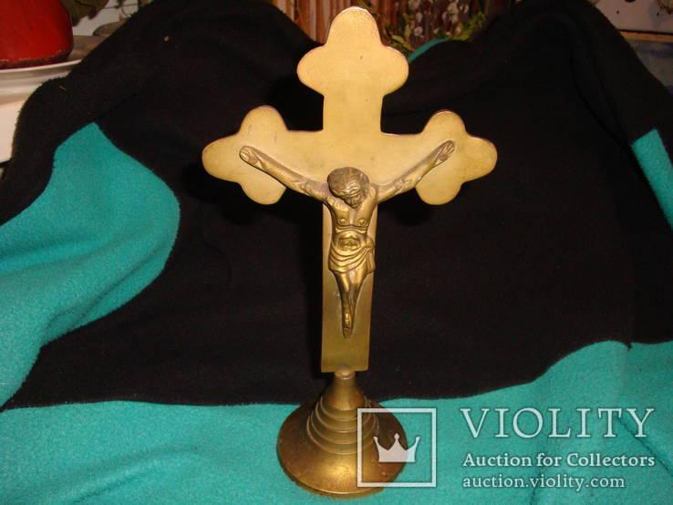 Настольный крест распятие, фото №2