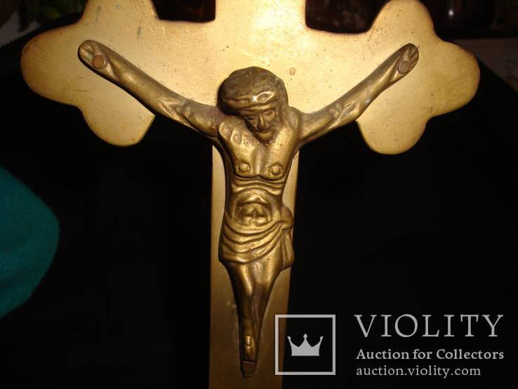 Настольный крест распятие, фото №4