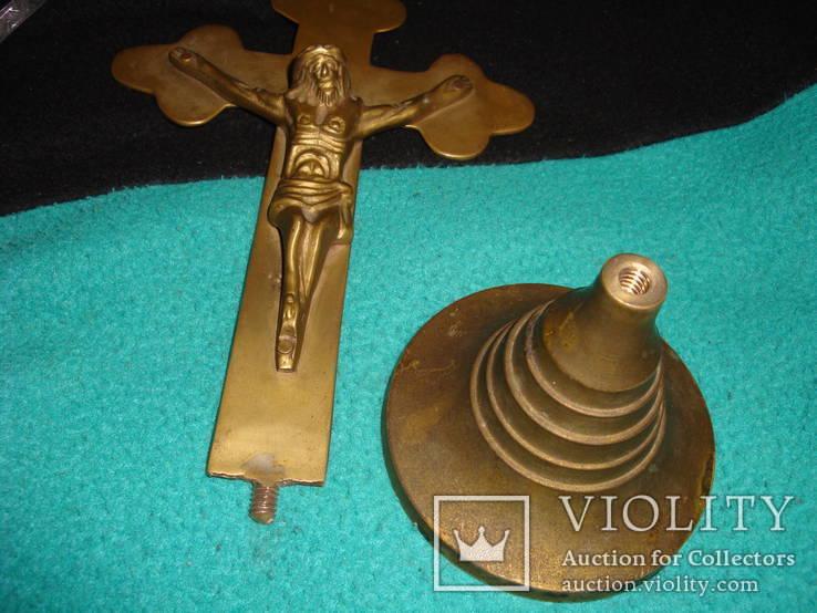Настольный крест распятие, фото №12