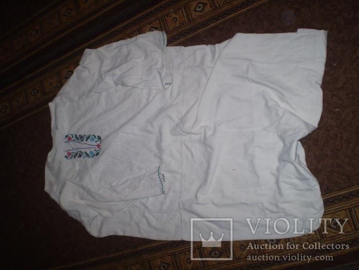 Сорочка вишита бісером, фото №2