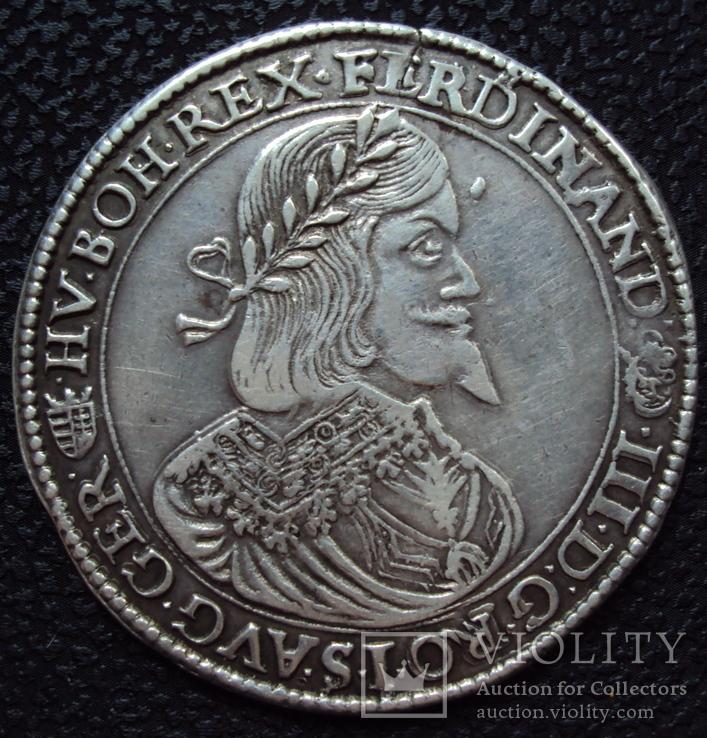 Талер Фердинанд 1646 г кв