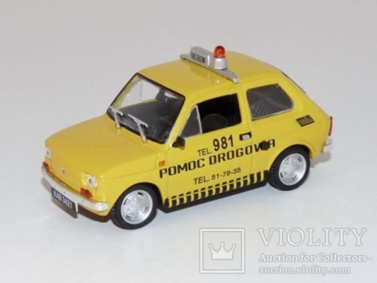Fiat 126P Pomoc Drogowa (DeA Kultowe Auta)