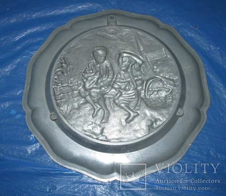 Декоративная настенная тарелка Германия, фото №3
