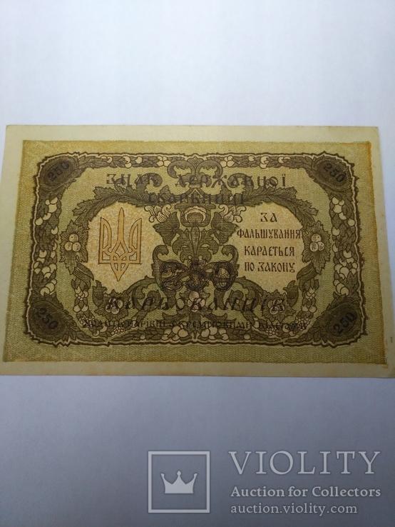 250 карбованців 1918 серія АА Українська держава