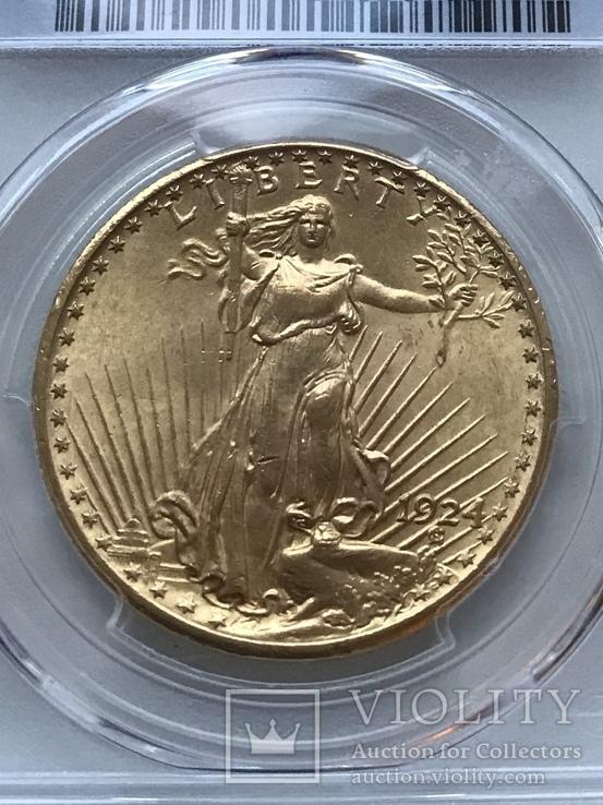 20 долларов США 1924