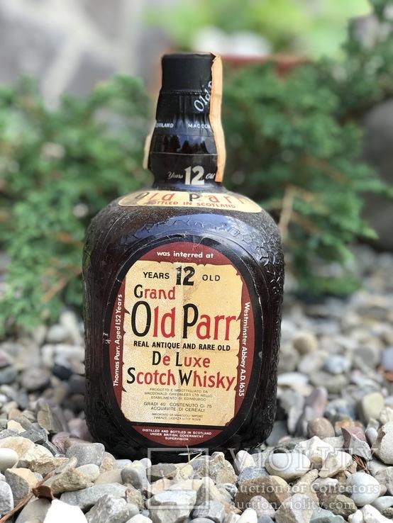 Old parr 12 1970/80s
