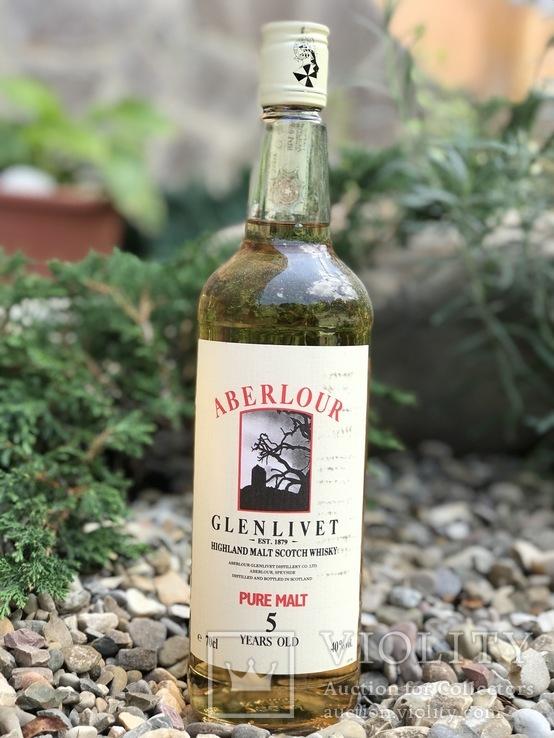 Aberlour-Glenlivet 5 years pure malt 1980/90s
