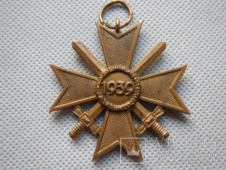 Kriegsverdienstkreuz - Крест Военных Заслуг ( КVК) с мечами 2 класса