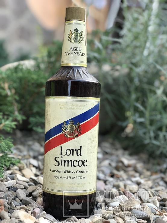Canadian whisky Lord Simcoe 1971