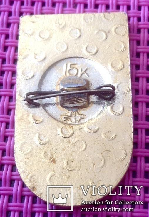 Знак гимнастика кольца, спорт ссср, фото №3