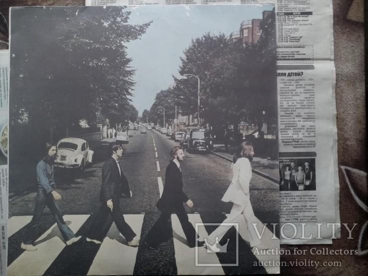 Вінілова пластинка The Beatles - Abbey Road 1969 року, фото №2