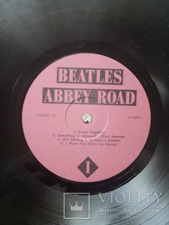 Вінілова пластинка The Beatles - Abbey Road 1969 року, фото №3