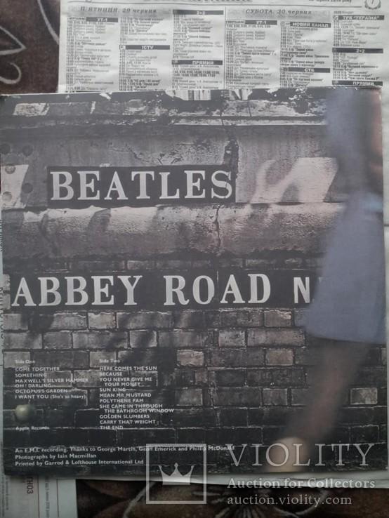 Вінілова пластинка The Beatles - Abbey Road 1969 року, фото №5