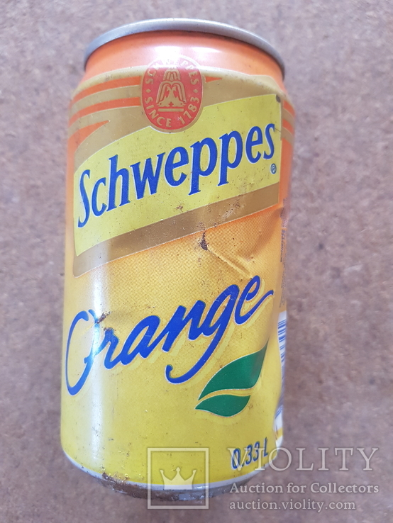 "Банка ""Schweppes"", 0,33, фото №2"