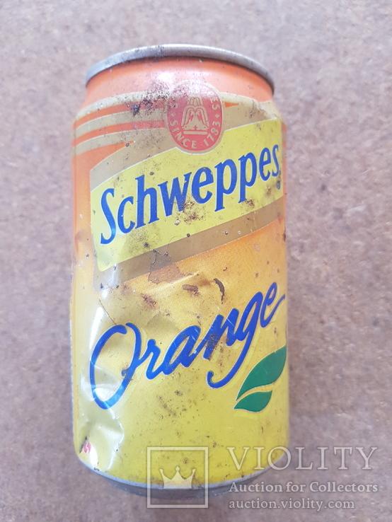 "Банка ""Schweppes"", 0,33, фото №3"