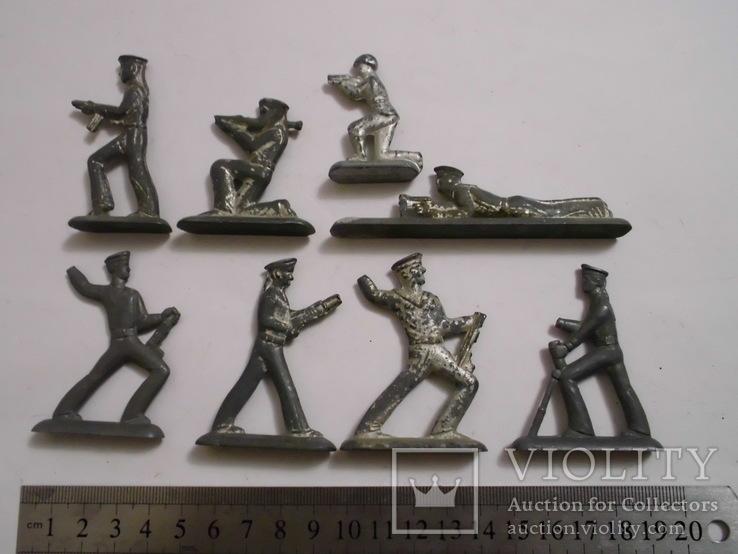 Фигурки солдат на реставрацию ( 8 шт.), фото №2