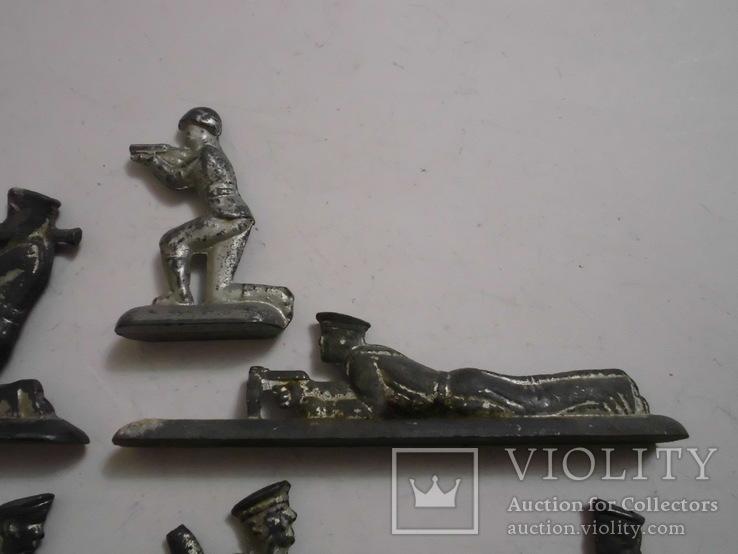Фигурки солдат на реставрацию ( 8 шт.), фото №5