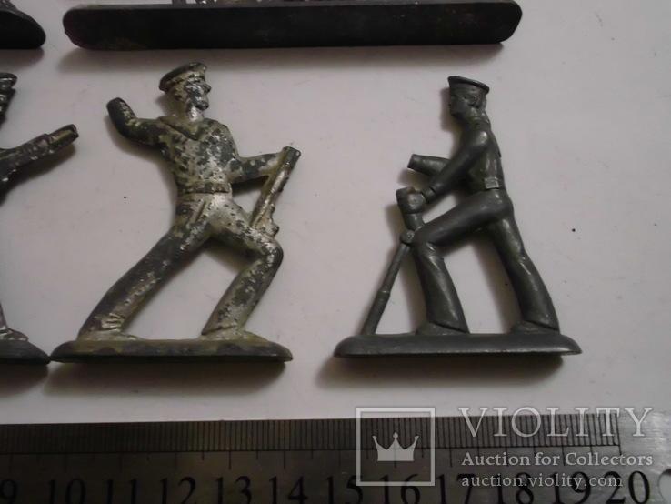 Фигурки солдат на реставрацию ( 8 шт.), фото №6