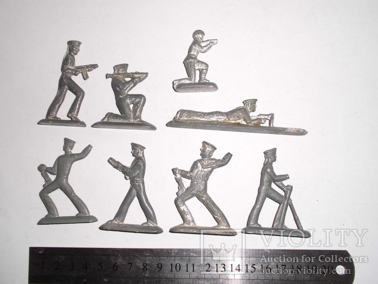 Фигурки солдат на реставрацию ( 8 шт.), фото №8