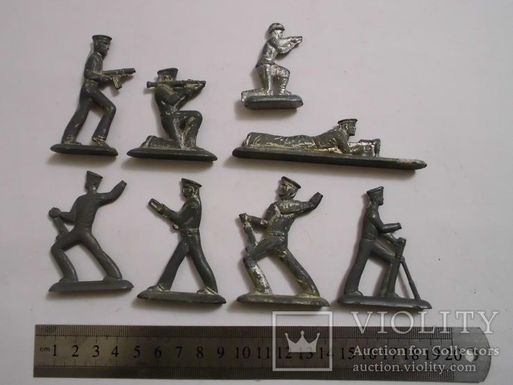 Фигурки солдат на реставрацию ( 8 шт.), фото №9