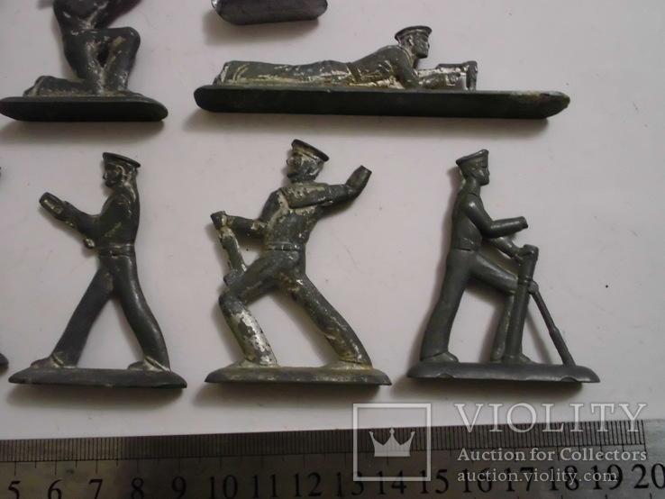 Фигурки солдат на реставрацию ( 8 шт.), фото №12