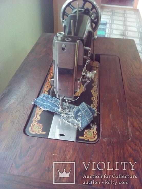 Ножная швейная машинка, фото №5