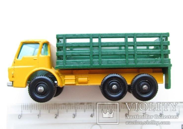 MATCHBOX Матчбокс 4 Dodge Stake Truck грузовик England 1967 год., фото №6
