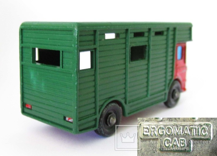 MATCHBOX Матчбокс №17 Ergomatic Cab Horse Box коневоз England 1969 год., фото №5