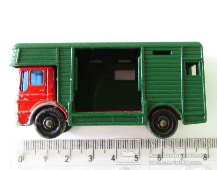 MATCHBOX Матчбокс №17 Ergomatic Cab Horse Box коневоз England 1969 год., фото №7