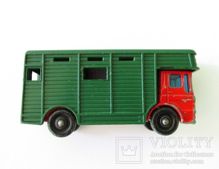 MATCHBOX Матчбокс №17 Ergomatic Cab Horse Box коневоз England 1969 год., фото №8