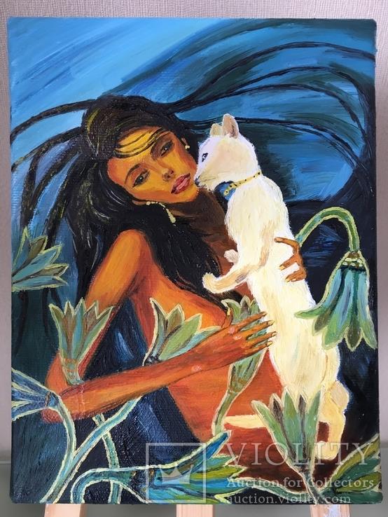 «Две кошки»