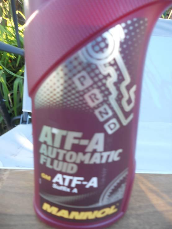Масло MANNOL ATF-A avtomatik fluid