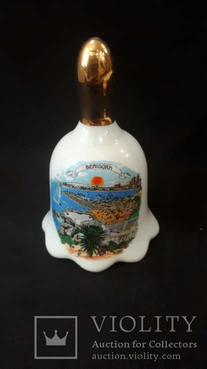 Колокольчик фарфоровый Benidorm., фото №2