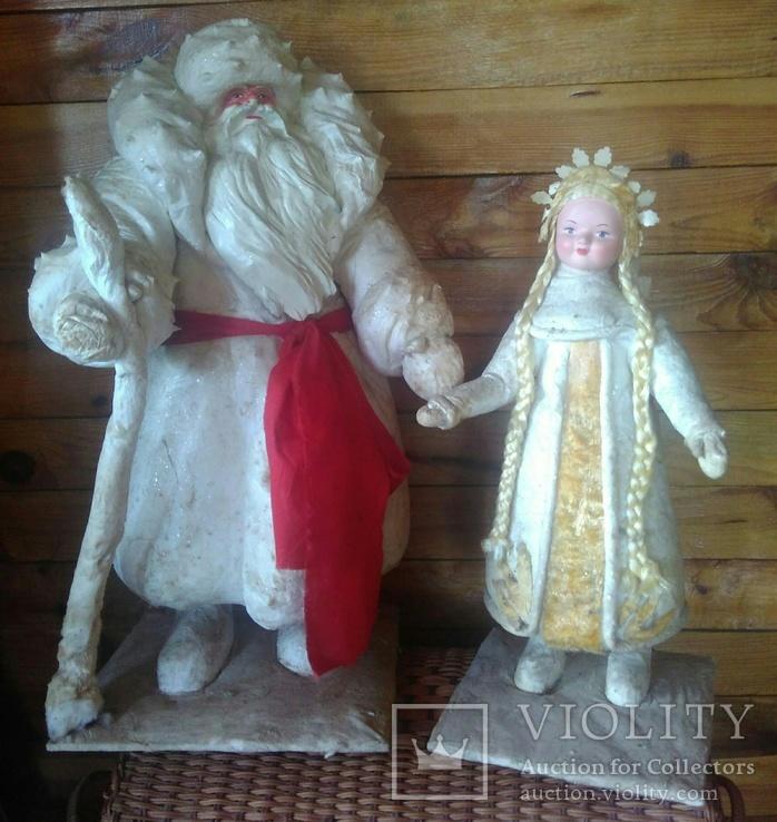 Дед Мороз и Снигурочка