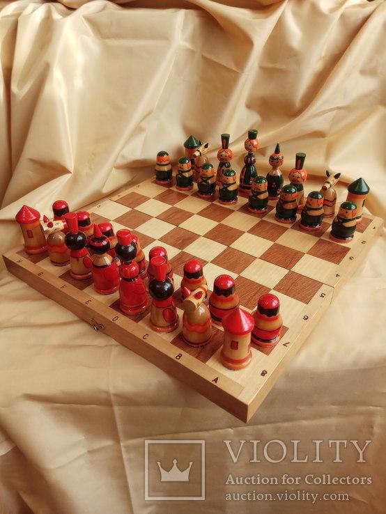 Шахматы тематические росписные