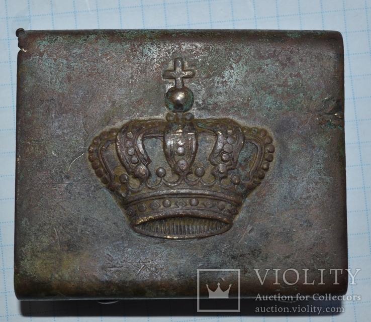 Пряжка королевского гвардейца Румыния