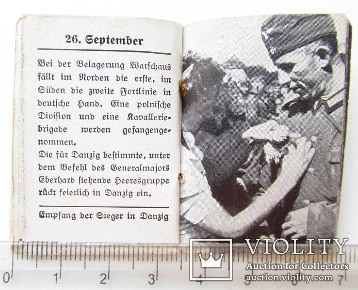 III REICH WHW ПРОПАГАНДА карманная книга Фюрер и Вермах Fuhrer Wermacht, фото №7