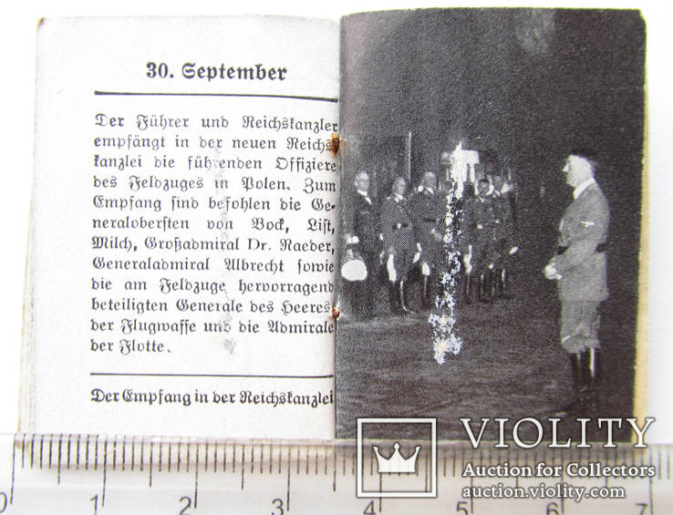 III REICH WHW ПРОПАГАНДА карманная книга Фюрер и Вермах Fuhrer Wermacht, фото №9