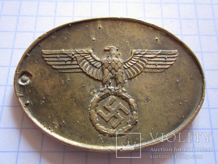 Служебный жетон Третий рейх копия, фото №3