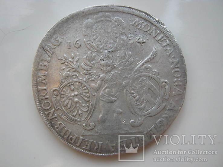 Нюрнберг талер 1634г.