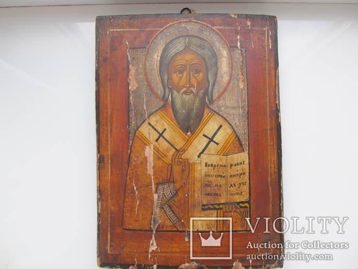 Икона Образ Святого Антипия.